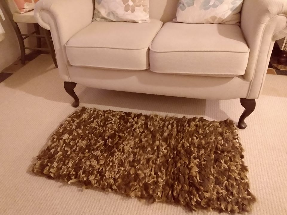Manx loaghtan rug